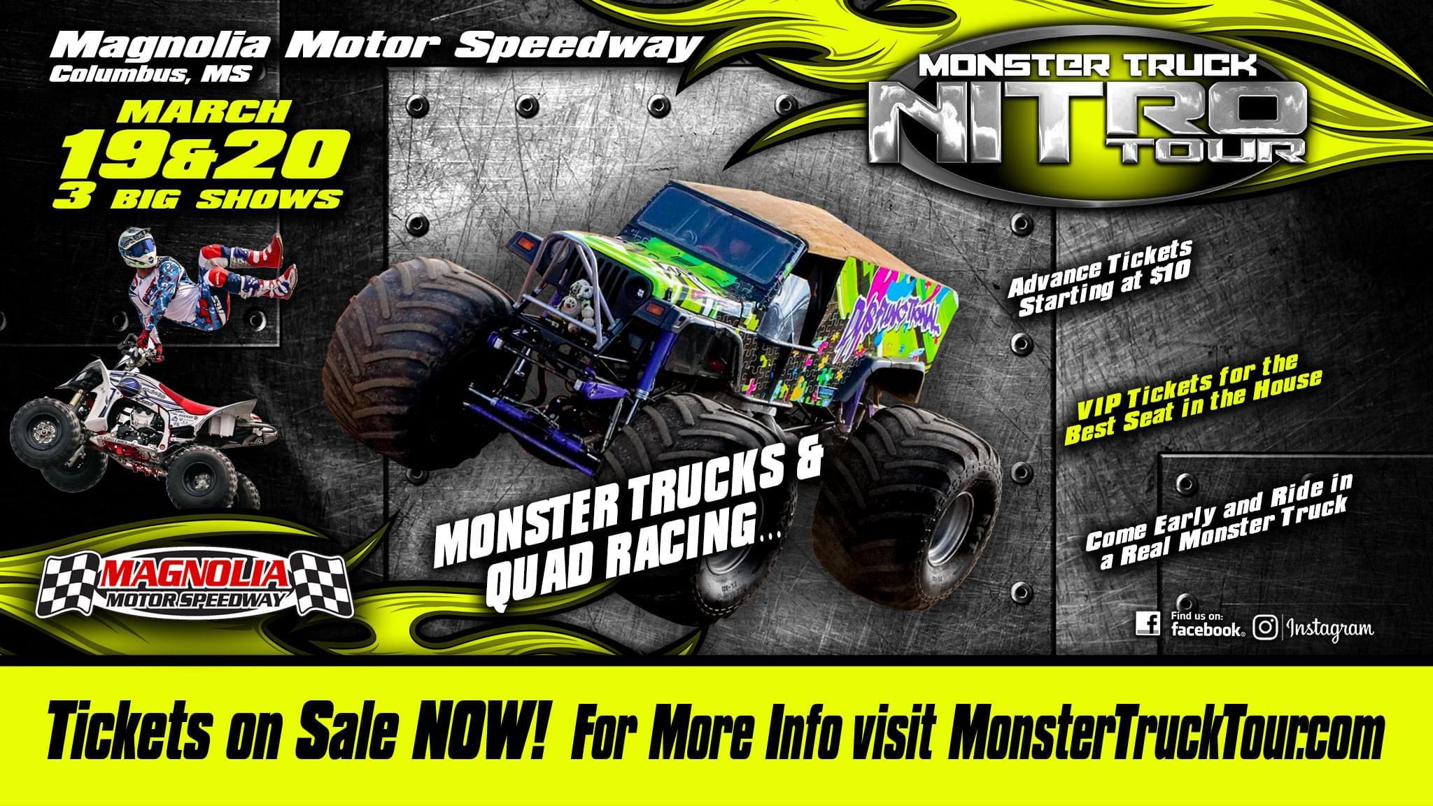 Monster Truck Nitro Tour