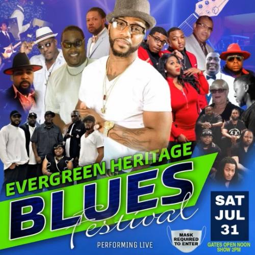 Evergreen Heritage & Blues Festival July 31