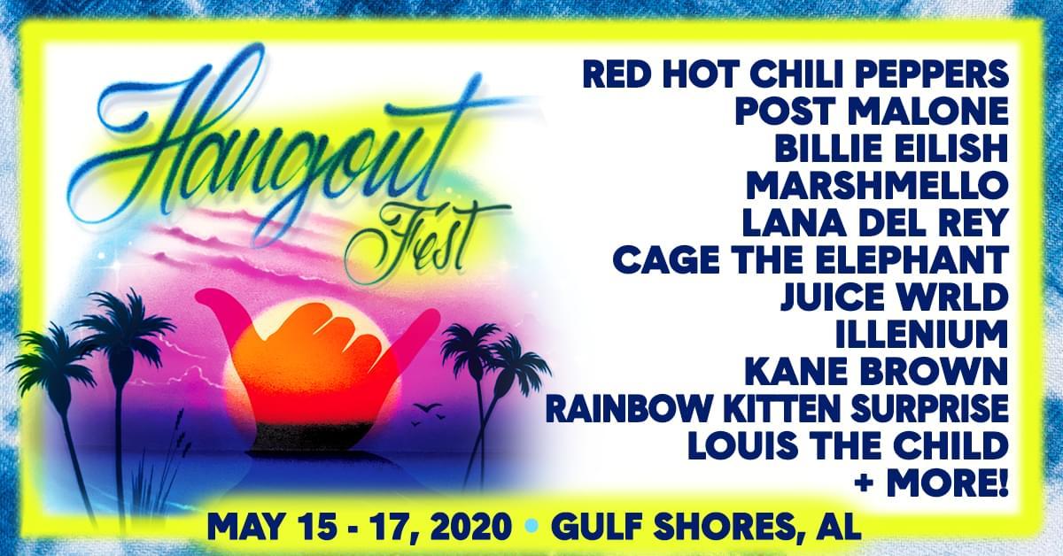 Hangout Fest 2020 Announced
