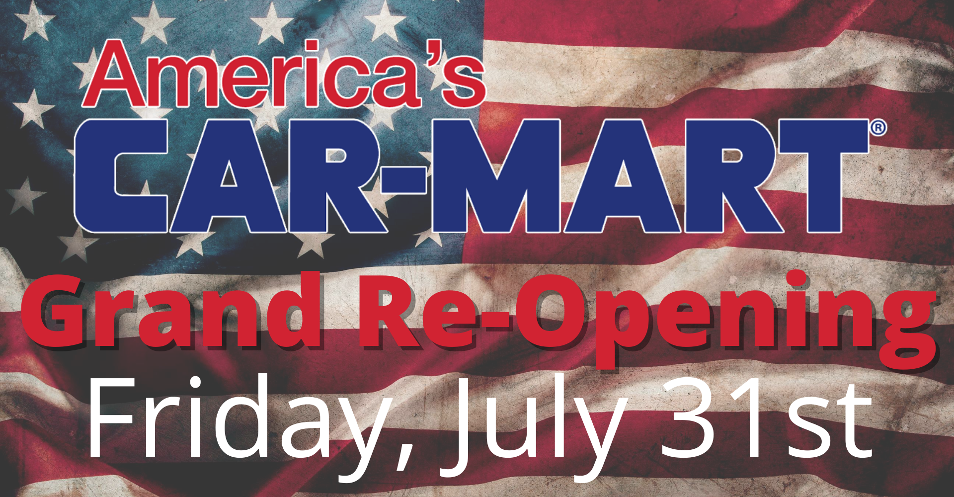 America's Car-Mart Grand Re-Opening