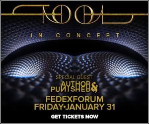 Tool FedEx Forum January 31st
