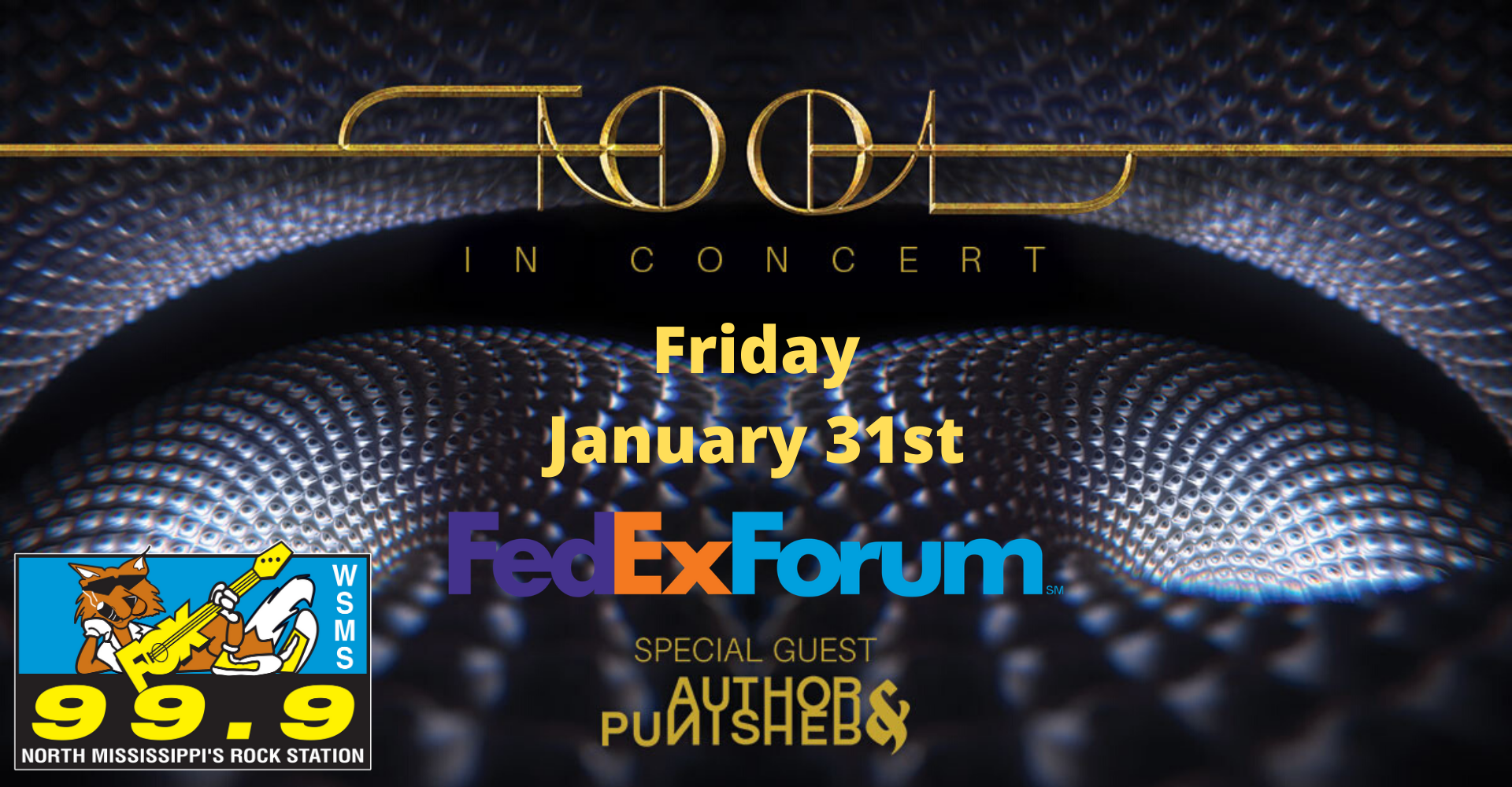 Tool-LIVE at the Fedex Forum on January 31st