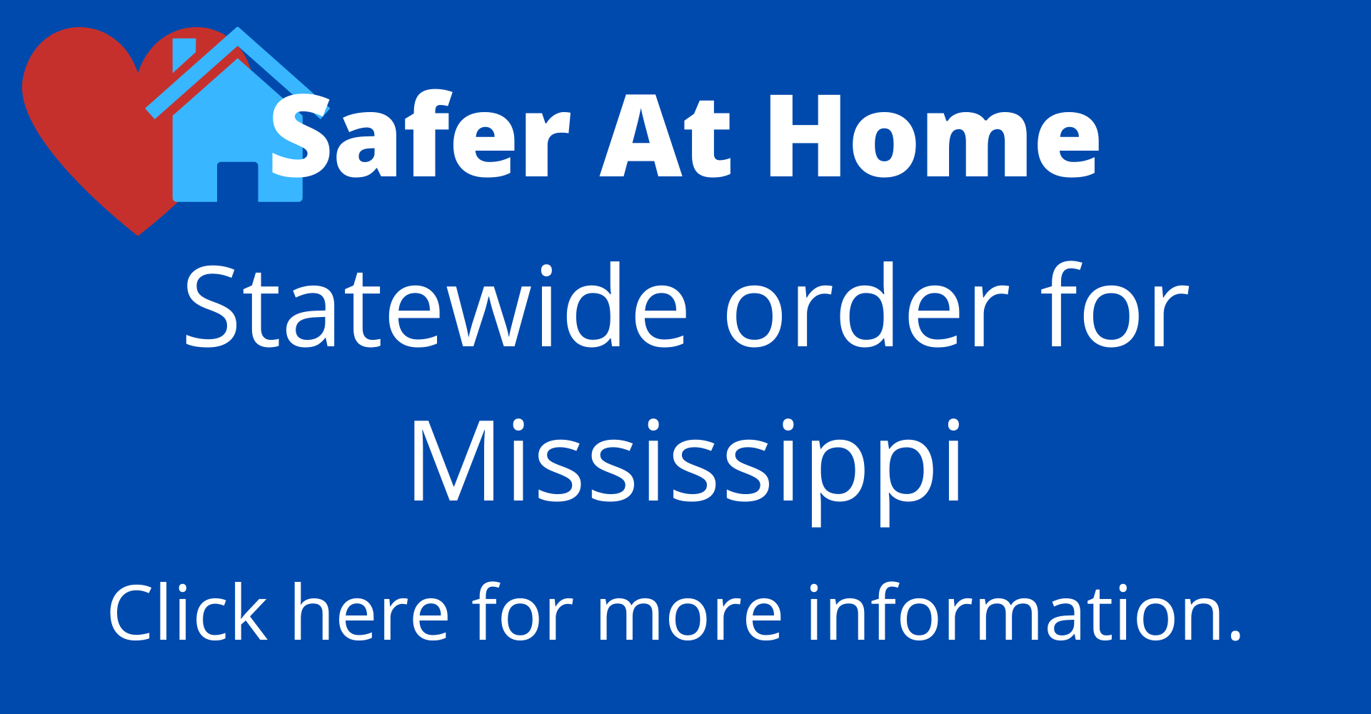 Statewide Safer at Home Order