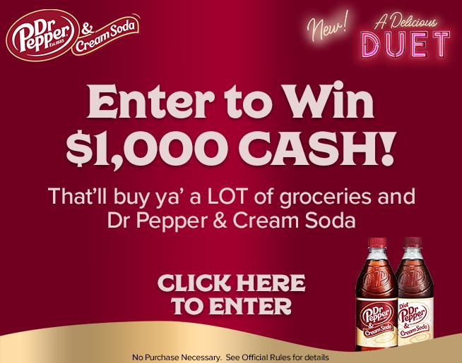 NEW Dr. Pepper & Cream Soda