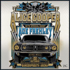 Alice Cooper & Ace Frehley Live