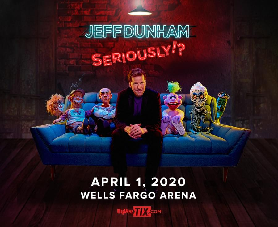 Jeff Dunham at Wells Fargo Arena