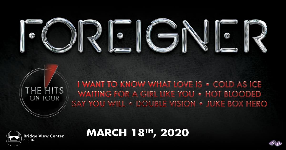Foreigner Returns To Iowa in 2020 [DETAILS]