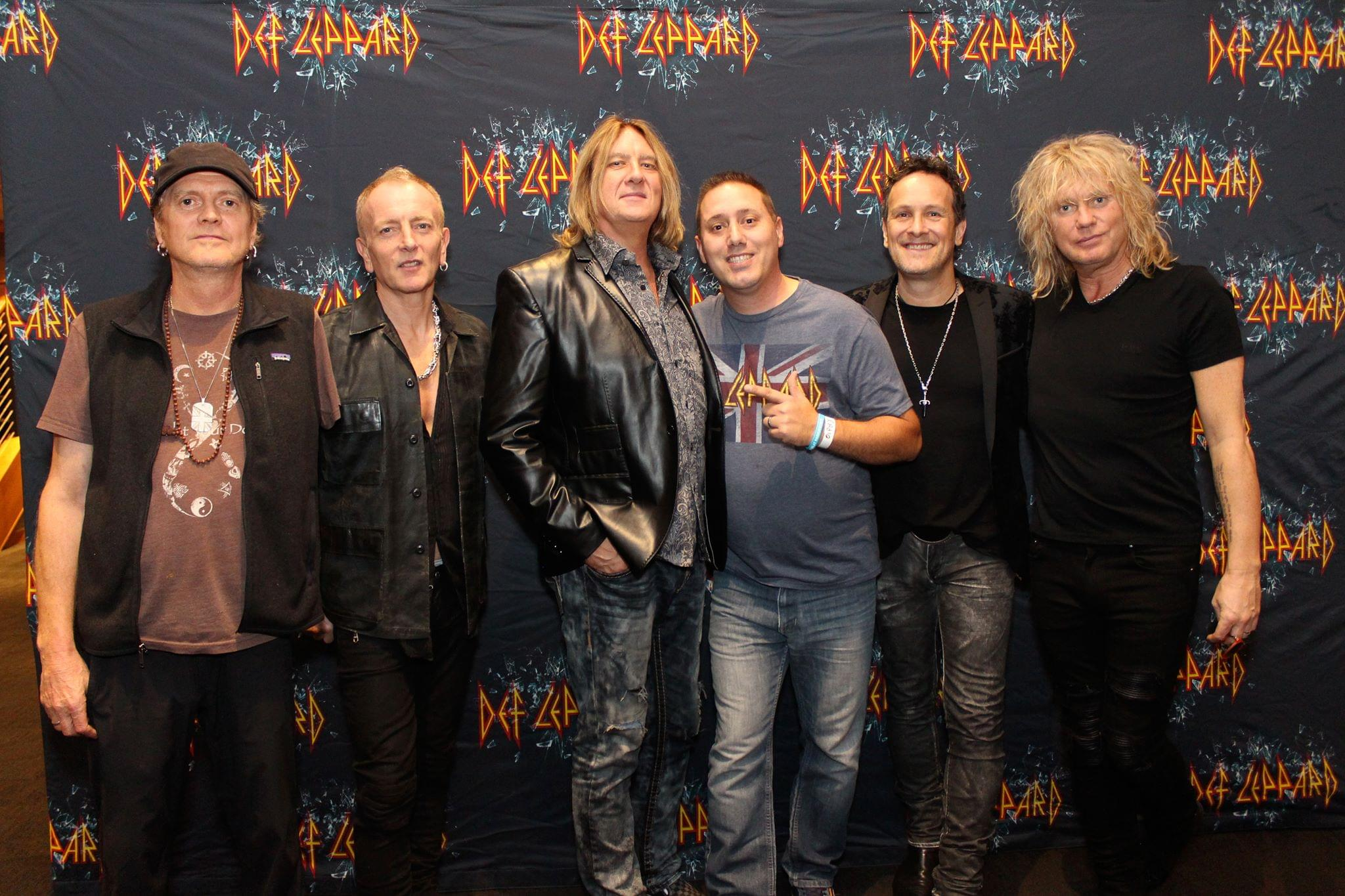 Joe Elliott from Def Leppard Talks New Music, Rock Hall and More [AUDIO]