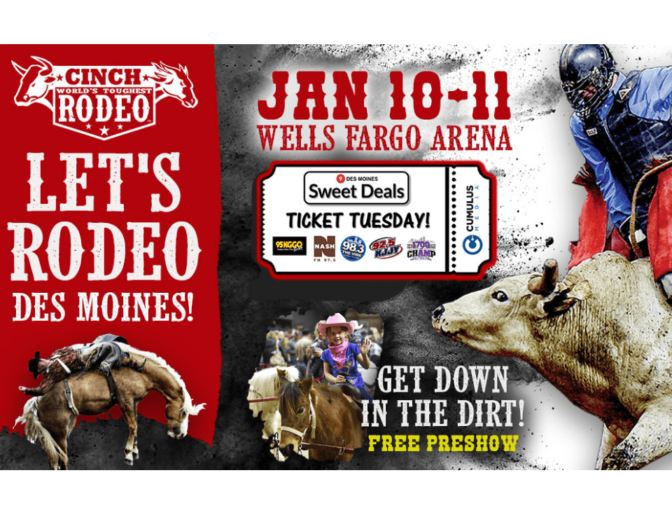 Ticket Tuesday Sweet Deal – World's Toughest Rodeo!