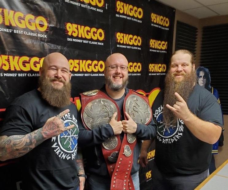 WWE Viking Raiders Interview