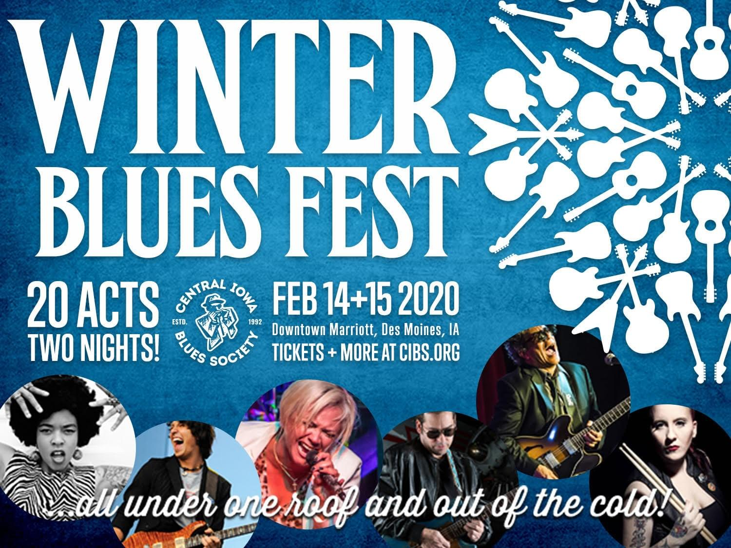 Central Iowa Blues Society presents the Upper Midwest's Premier Blues Festival