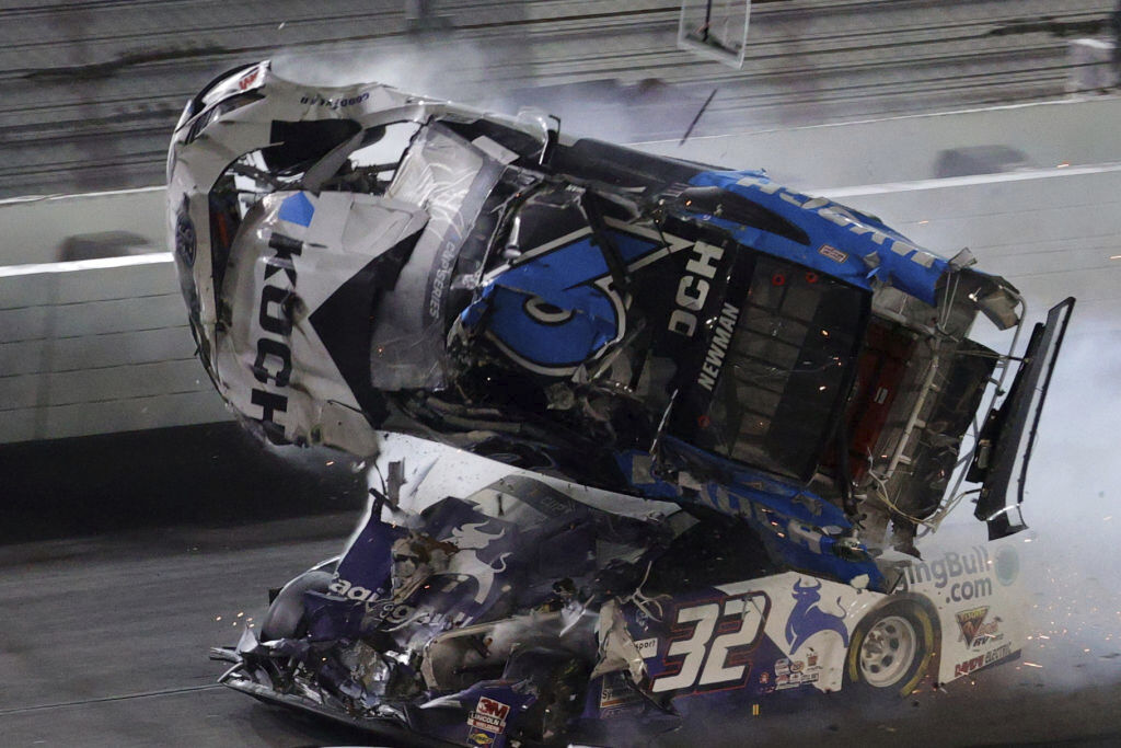 Ryan Newman hospitalized after crash at Daytona 500