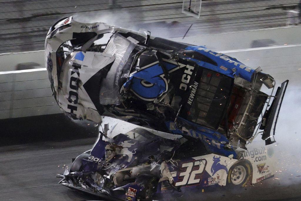Ryan Newman hospitalized after crash at Daytona 500