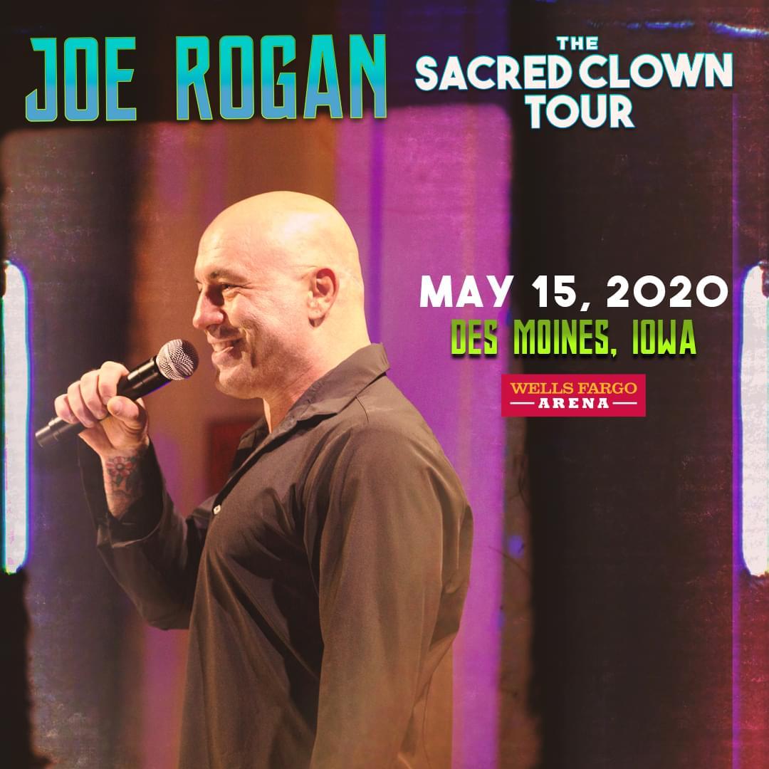 Joe Rogan at Wells Fargo Arena
