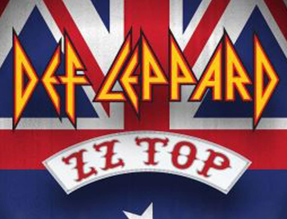 Def Leppard and ZZ Top Row to the Show