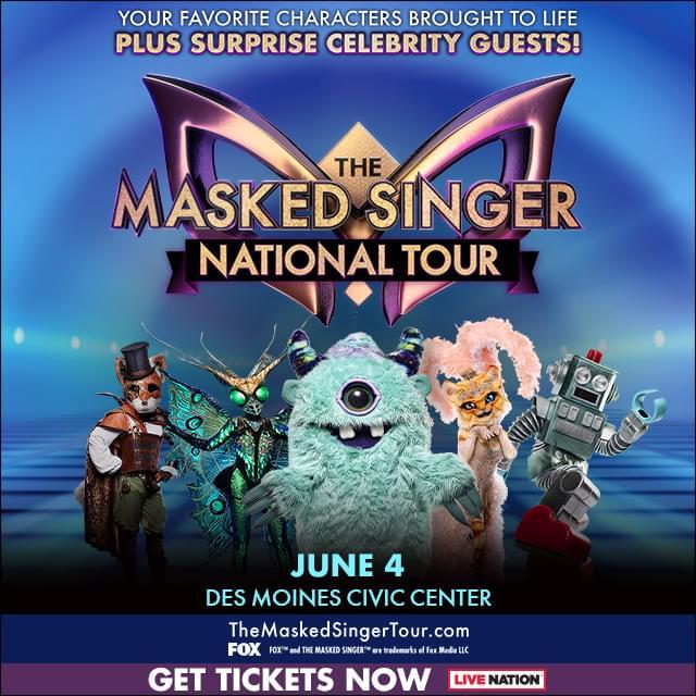 (POSTPONED TO 2021) The Masked Singer at Des Moines Civic Center
