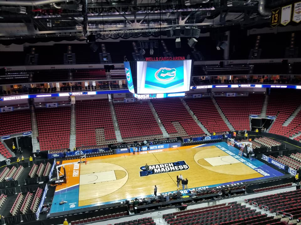 BREAKING NEWS: NCAA Tournament games to be held without fans due to coronavirus