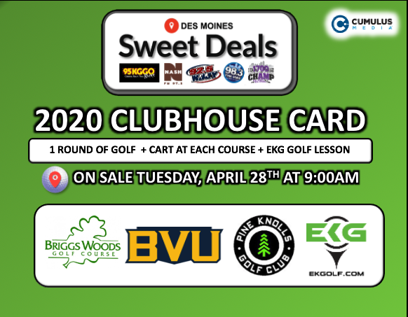 Golf Card Sweet Deal