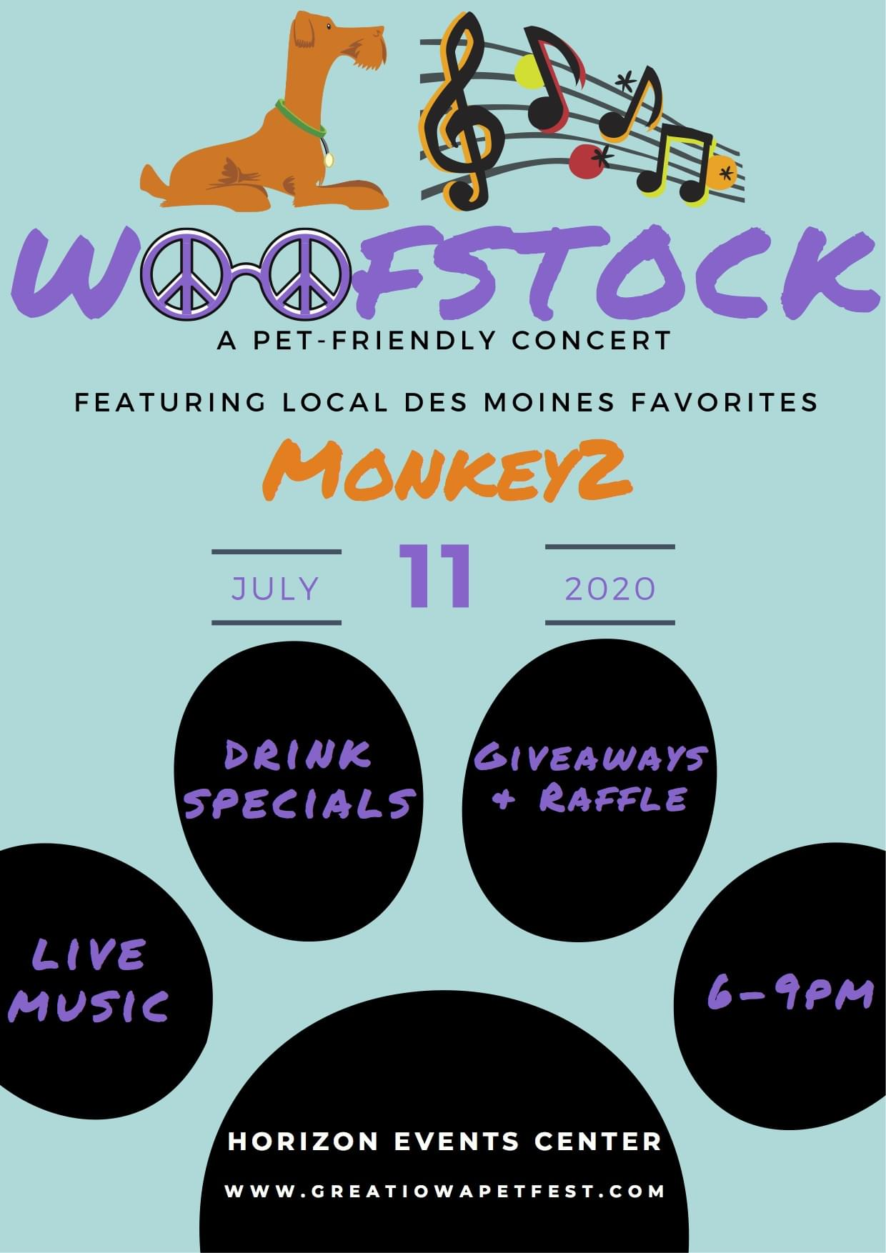 Woofstock and Paws and Pints at the Greater Iowa Pet Fest