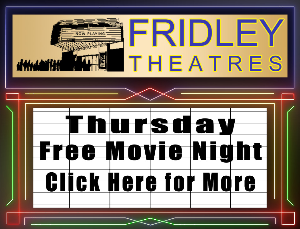 Classic Movie Talk and KGGO Night at Fridley Theatres