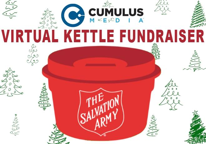 Virtual Kettle Fundraiser for Salvation Army