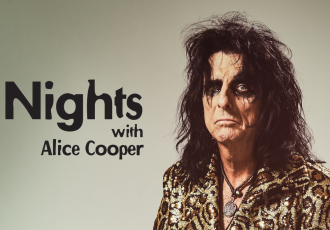 Tonight on Nights with Alice Cooper