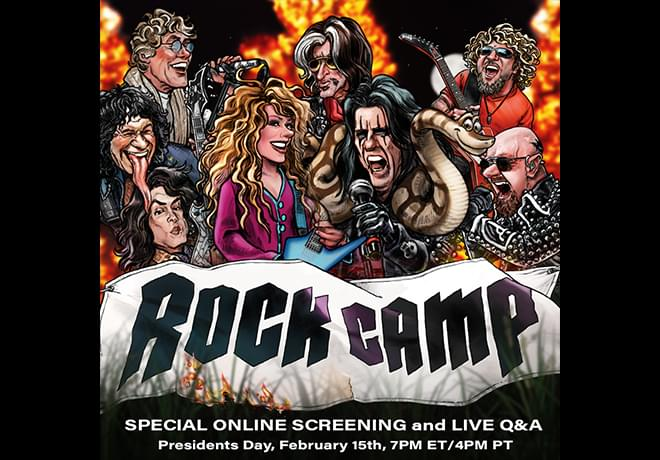 """Enter to Win Passes to an Exclusive Screening of """"Rock Camp"""" and Q&A with the Stars"""