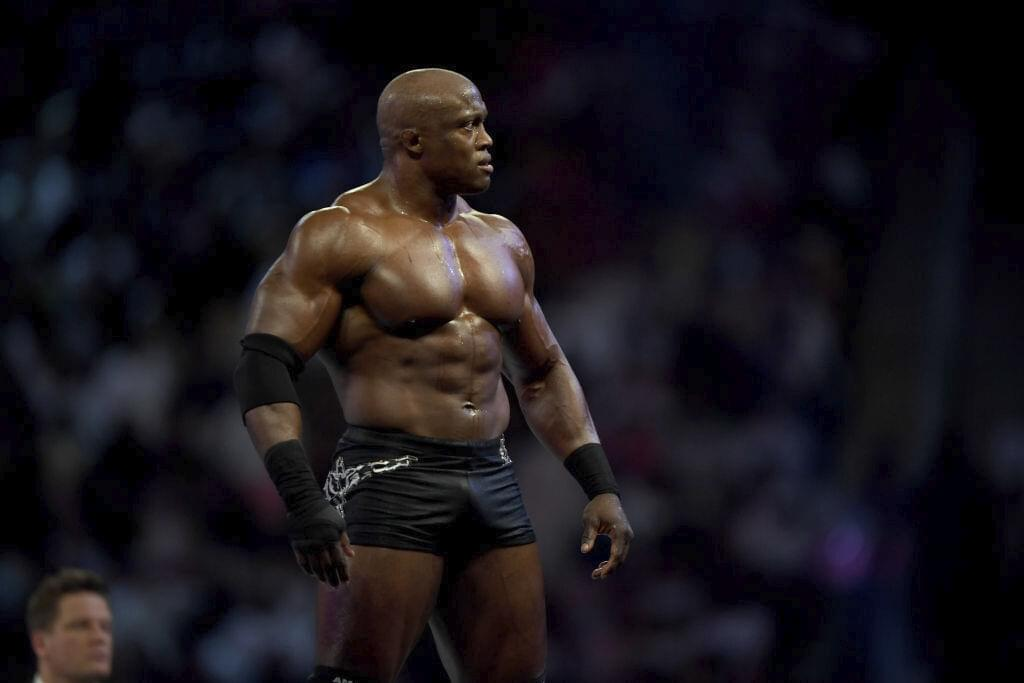 Bobby Lashley wins the WWE Championship