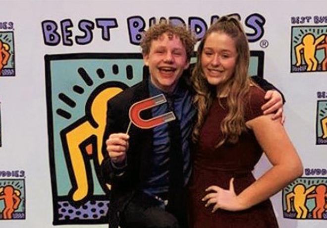 BEST BUDDIES: Meet Zack & Lexi