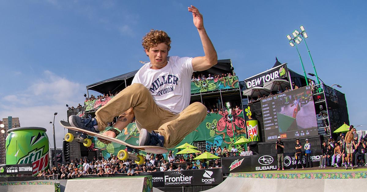 Lauridsen Skatepark to host Dew Tour 2021