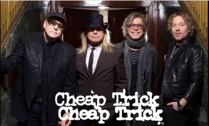 Enter to win Cheap Trick Tickets – Bike Night