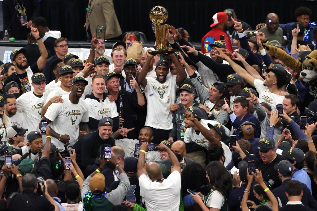 The Milwaukee Bucks are NBA Champions again!
