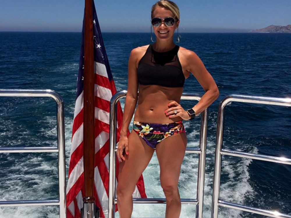 Carrie Underwood Shares Tropical Vacation Photos—Complete With Bikini Shot