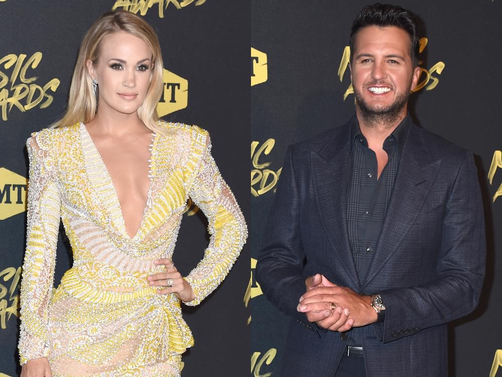 CMT Awards to Feature Performances by Carrie Underwood, Luke Bryan, Dan + Shay, Kelsea Ballerini, Maren Morris & More