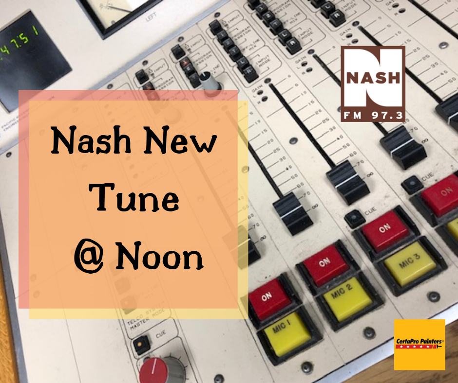 "Nash New Tune At Noon 11-1-19  –  Carrie Underwood ""Drinking Alone"""