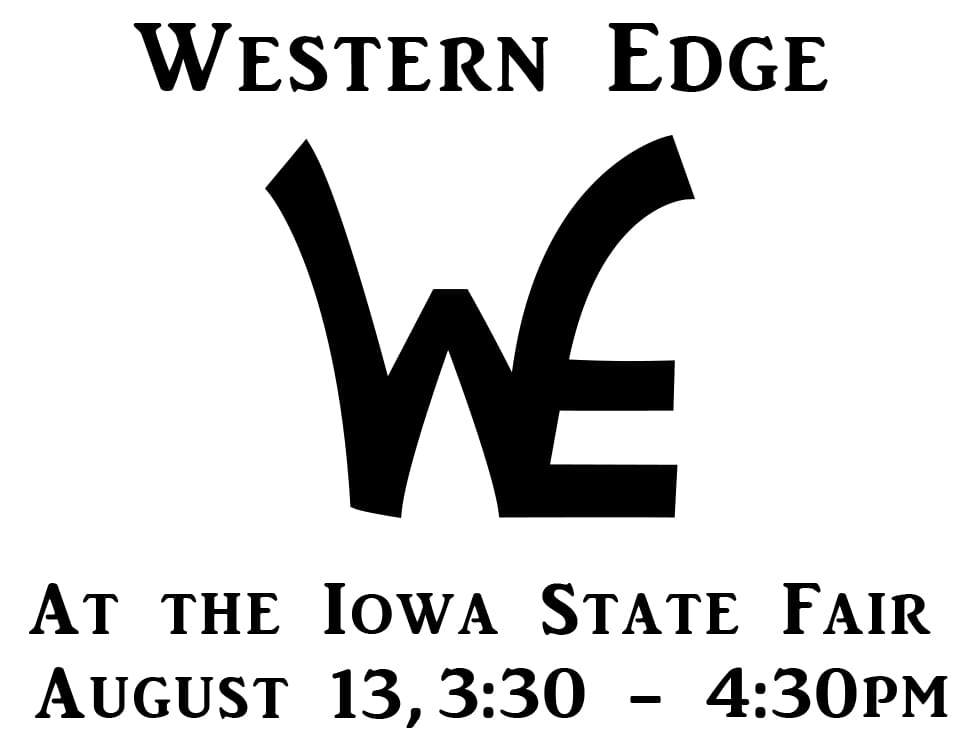 Danger at Western Edge's Fair Booth