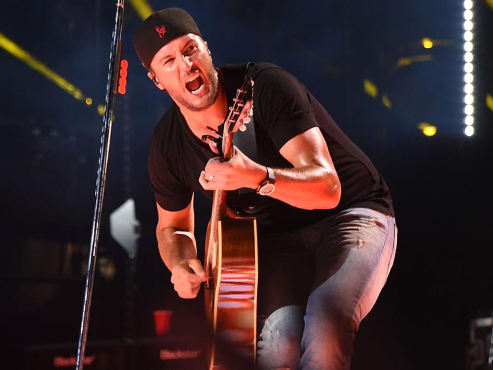 """Luke Bryan Says Upcoming 7th Studio Album Is Coming Along: """"I've Got Several Things Recorded"""""""