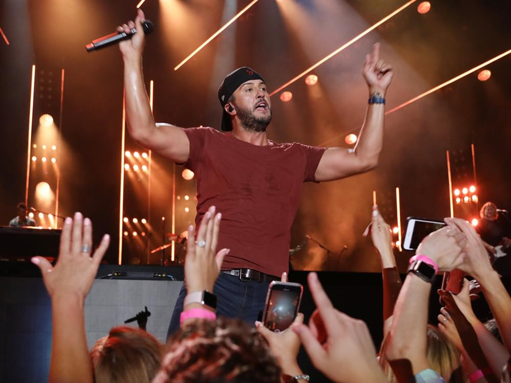 "Luke Bryan Drops Title Track to Upcoming Album, ""Born Here, Live Here, Die Here"" [Listen]"