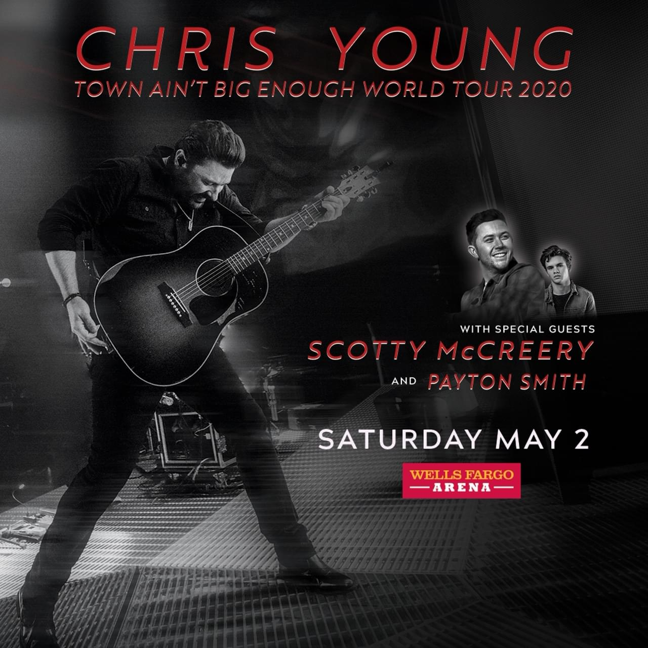 (CANCELLED) Chris Young at Wells Fargo Arena