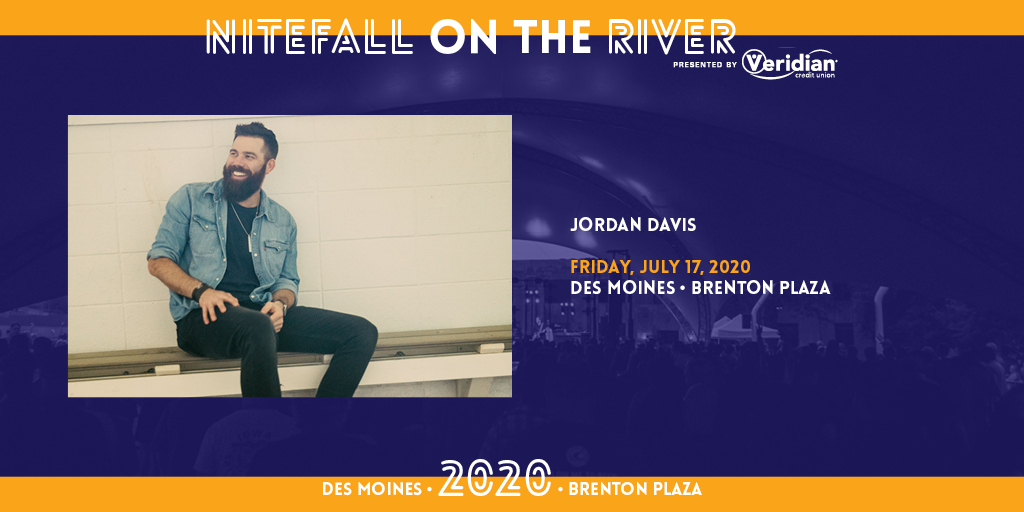 (POSTPONED TO AUGUST 27TH) Jordan Davis at Nitefall on the River