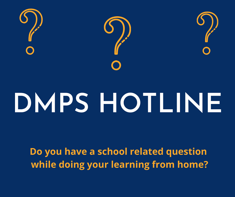 Des Moines Public Schools Learning At Home Hotline