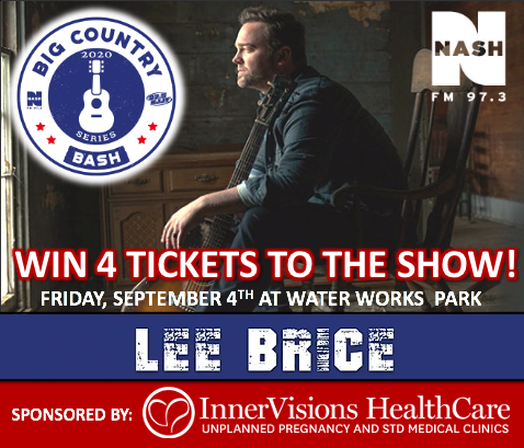 Lee Brice Contest with InnerVisions Healthcare