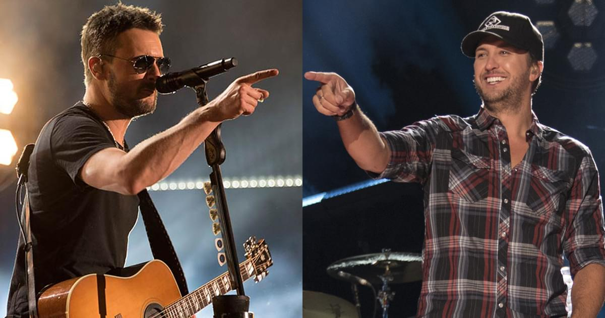 ACM Awards Announce 2nd Round of Performers, Including Eric Church, Luke Bryan, Dan + Shay & More