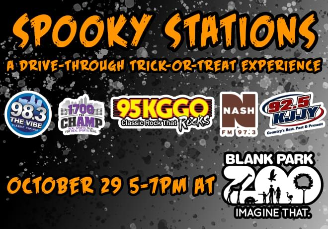 Spooky Stations: A Drive-Through Trick-Or-Treat Experience!