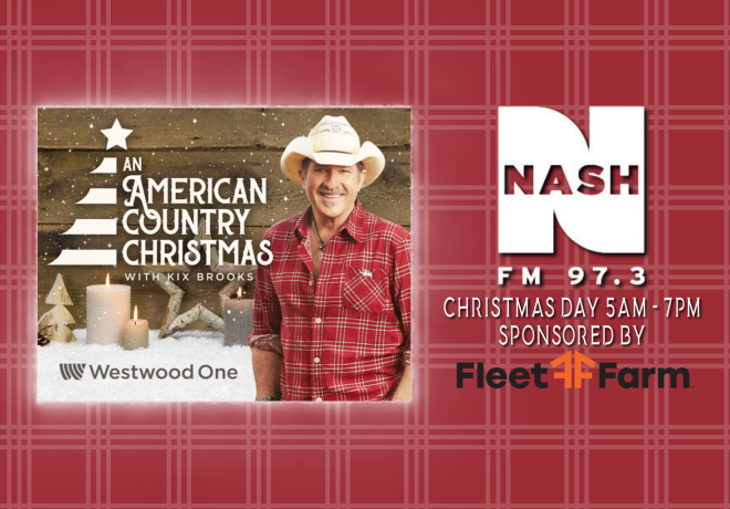 An American Country Christmas on Nash FM 97.3