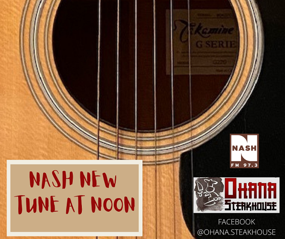 """Nash New Tune At Noon 1-5-21  –  Justin Moore """"We Didn't Have Much"""""""