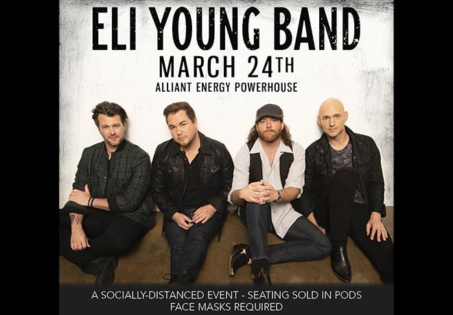 Eli Young Band Announces Cedar Rapids Show