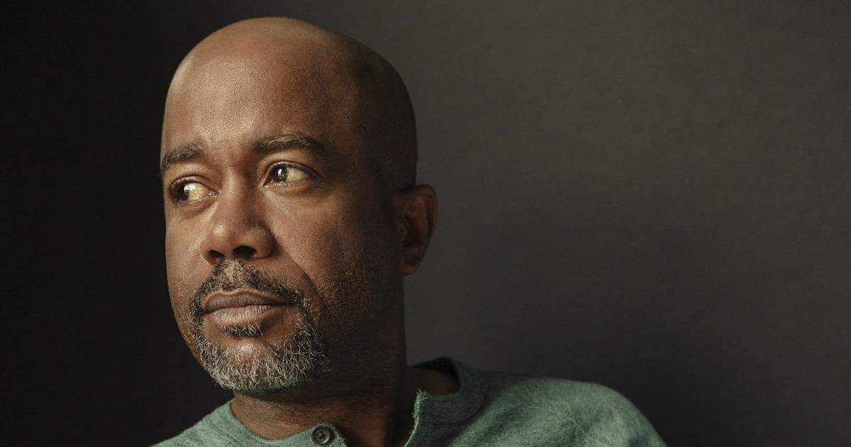 "Darius Rucker Says Quarantine Questions and Piano Lessons Lead To ""My Masterpiece"""