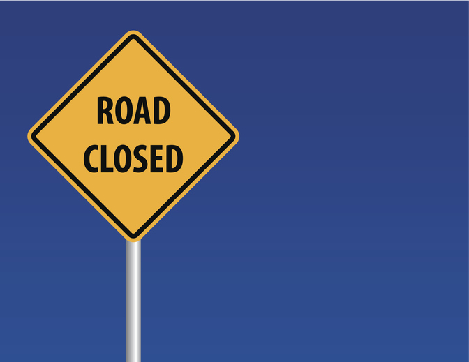 Road Closings in Ames