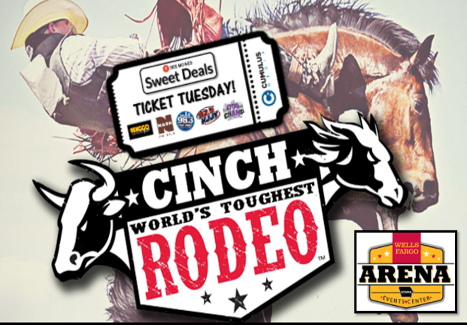 Sweet Deal Ticket Tuesday World's Toughest Rodeo